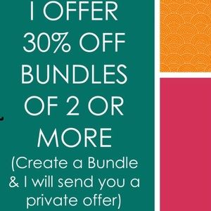 Tops - Bundle and save 30% she you buy 2 or more